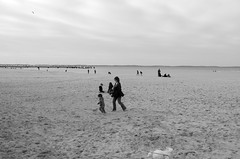 Catch me if you can (Olivr 's pictures) Tags: leica portrait bw 35mm bordeaux monochrom arcachon catchmeifyoucan typ113 leicax olivrspictures