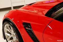c7_z06_z07_esoteric_315 (Esoteric Auto Detail) Tags: corvette esoteric z06 detailing hre c7 torchred akrapovic p101 suntek z07 gyeon paintprotectionfilm paintcorrection bestlookingcorvette z06images