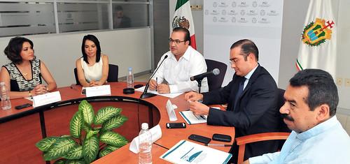 El gobernador Javier Duarte de Ochoa presidió la Primera Sesión Ordinaria del Consejo Consultivo 2014 para la Implementación del Sistema de Justicia Penal en el Estado de Veracruz.