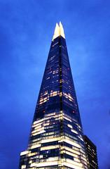 Blue Shard (Hexagoneye Photography) Tags: london bluehour shard