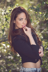 Mireia (cesarmarch) Tags: portrait test woman sexy girl fashion book model nikon retrato moda d800 mireia elsaler cesarmarch