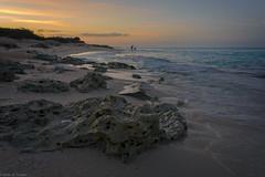 sunset (Brian D. Tucker) Tags: ocean sunset sky beach water clouds rocks waves cuba resort atlanticocean 2016 d610 meliacayosantamaria