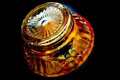 percolated coffee (donjuanmon) Tags: macro glass coffee vintage bubble copper theme hmm stainless percolator revereware macromondays donjuanmon