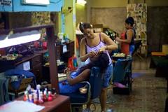 Salon (Tom Taylor (Windsor)) Tags: santiago beauty women eyelashes cuba salon capitalism entrepreneur
