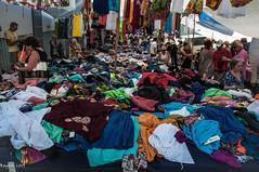 Street clothes (ericbaygon) Tags: color nikon market skirt clothes greece crete jupe march grce couleur vtement agiosnikolaos d300s