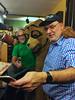 Ken Freedman, Gentle Jim the Bear and Andy Breckman on Seven Second Delay on WFMU Radio (jvdalton) Tags: jerseycity davehill wfmu kenfreedman wmfu andybreckman marathon2016