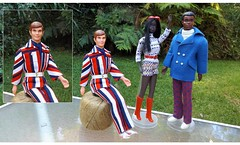 RED WHITE AND BLUE (ModBarbieLover) Tags: fashion brad 1971 mod doll ken malibu christie talking 1972