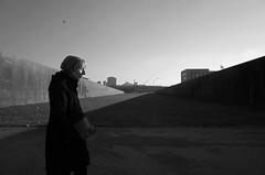 * (elisachris) Tags: street light shadow sky blackandwhite berlin licht streetphotography himmel mitte schatten ricohgr spreebogenpark schwarzweis