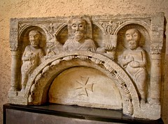 Saints in stone (kimbar/Thanks for 2.5 million views!) Tags: italy stone museum carving verona