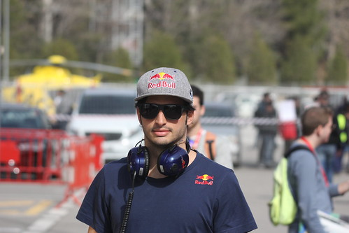 Carlos Sainz Jr at Formula One Winter Testing 2016