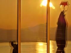 Sunset reflected. (Christos Andreou) Tags: reflections photography mediterranean photographer ngc relaxing photoart wintersun loutraki corinthia seasunset hdrphotos samsunggalaxykzoomsamples opticalzoomphotos