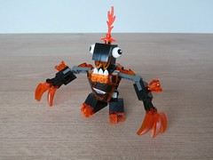 LEGO MIXELS MOC Fan Made Instructions LAVA MIXELS (Totobricks) Tags: lava lego made fantasy howto instructions build moc mixels legomixels totobricks legomixelsmoc lavamixels