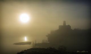 Niebla en Azua .- Fog in Azua.  Nº57