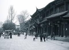 Chongzhou i Chengdu - versjon BW (jonarnefoss2013) Tags: china bw blackwhite chengdu sichuan kina nikon1 chongzhou