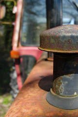 Massey Ferguson (KevHaseldine) Tags: tractor rust farm dorset vehicle funnel exhaust masseyferguson