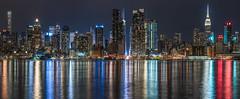 Skyline Midtown NY pano RS (P.E.T. shots) Tags: nyc longexposure night lights manhattan