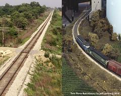 Creating Prototype Sincerity on Model Layouts (Twin Ports Rail History) Tags: railroad history jeff scale by club train layout illinois model midwest time machine twin rail batavia ho ports modelers lemke