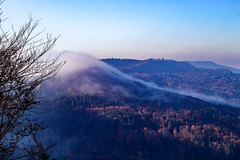 IMG_2414-Bearbeitet.jpg (MSPhotography-Art) Tags: morning autumn nature misty clouds germany landscape deutschland nebel outdoor herbst natur wolken alb landschaft wandern wanderung badenwrttemberg swabianalb burghohenzollern albtrauf schwbschealb