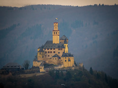 Marksburg (Bastian Haas photography) Tags: house castle history mystery architecture forest germany landscape rocks king princess outdoor tail cottage prince olympus medieval unesco hills 300mm fairy knights ii rhein burg omd rheinlandpfalz telezoom mittelrheintal em10 marksburg braubach 600mm mittelrhein