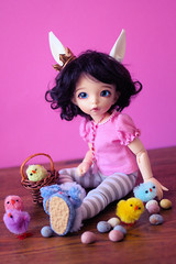 Fashion Friday - 25th March 2016 (Lucy-Loves?) Tags: bunny easter spring doll tabby eggs chicks bjd fairyland tabitha goodfriday ante ltf yosd fashionfriday littlefee thelittlecupboard