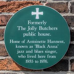 The Jolly Butchers (bardwellpeter) Tags: norfolk norwich plaques julys nx10 samsungnx10 zonekkngstberpow xnoch hyberstreet