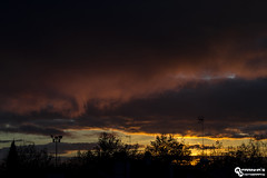 Landscape view from my Window (RuiFarinha's Photography) Tags: sunset portugal nature colors clouds landscape photography ilovephotography cratoportugal