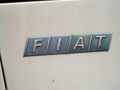 Fiat logo (marcogariboldi) Tags: auto car punto automobile fiat convertible cabrio yashica cabriolet yashinon tomioka 1255