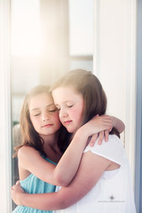 (Rebecca812) Tags: family girls portrait love beauty childhood vertical canon children hug friendship sweet cousins happiness innocence bond embrace pure eyesclosed twopeople sundress sisterhood rebecca812
