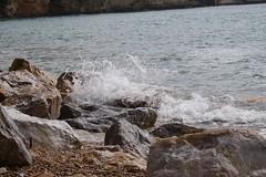 Lerici, La Spezia (lilialoukili) Tags: beach beautiful canon landscape photography spring italia laspezia lerici
