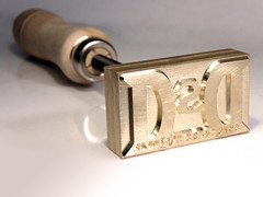 Sello de termograbado manual - Branding Iron fire