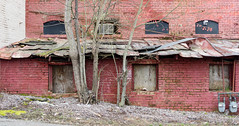 Old building (micro.burst) Tags: building rural monroe smalltown tinroof lightroom countyseat waltoncounty pentaxk3