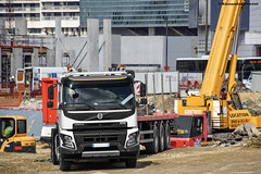 Volvo FMX 460 (Alexandre Prvot) Tags: construction construccin lorraine worksite buildingsite travaux chantier cugn grandnancy baustellebauplatz