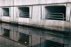 Brickworld (Herr Olsen) Tags: puddle concrete lego garage bricks elements brutalism beton solingen parkhaus pftze