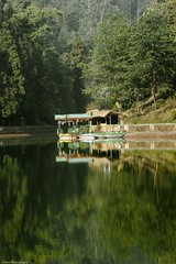 _D759338 (The Ranzi) Tags: morning travel trees summer vacation india lake reflection green forest landscapes wideangle hills explore boating sikkim beautifull colourfull aritar