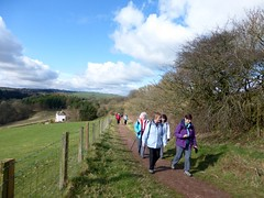 Ramblers near New Lanark (luckypenguin) Tags: walking scotland walk ramblers newlanark lanarkshire lanark