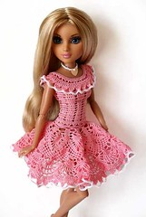 UvVUQRyLmoU (natalia_gorelova) Tags: knitting doll dress handmade crochet clothes moxie teenz