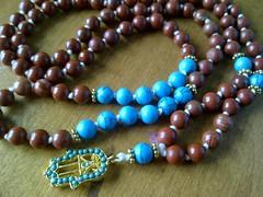 12307582_1570437146605992_6489477490345380858_o (innerjewelz@rogers.com) Tags: handmade traditional jewelry jewellery meditation custom mala 108 mantra intention knotted japamala innerjewelz