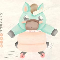 Wiiiiiiiii (sentimentalmint) Tags: cute art kawaii draw lovely unicorn dibujo ilustration ilustracion unicornio