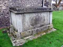 GOC Brookmans Park 027: Tomb, St Mary's Church, North Mymms (Peter O'Connor aka anemoneprojectors) Tags: england building church grave kodak outdoor tomb churchyard stmaryschurch hertfordshire listed listedbuilding 2016 stmarythevirgin gradetwo goc northmymms gradeiilisted grade2listedbuilding grade2listed gradeiilistedbuilding tombchest gradetwolisted watlingchase gayoutdoorclub gradetwolistedbuilding z981 kodakeasysharez981 gochertfordshire hertfordshiregoc watlingchasecommunityforest gocbrookmanspark