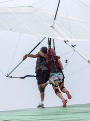 Just Don't Stop Running (beckstei) Tags: brazil rio brasil de janeiro gliding hang