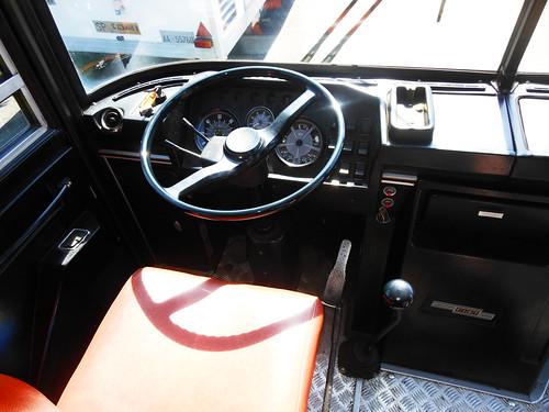 Posto di guida vintage