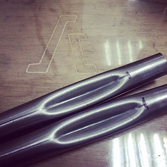 Bent on the chainstay. #brassbrazing #custom... (Stubborn Cycleworks) Tags: columbus track handmade fixed handcrafted fixie fixedgear custom lug framebuilding custommade chainstay brassbrazing uploaded:by=flickstagram stubborncycleworks instagram:venuename=stubborncycleworks instagram:venue=263704721 instagram:photo=9347171435977169042926796 chainstaybenting