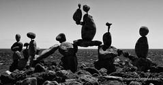 Rocky Meeting. (niall.hirsch) Tags: lanzarote rocksculpture