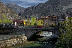 Andorra city view: Sant Julia, Gran Valira, Andorra (lutzmeyer) Tags: pictures mountain primavera berg rock rural sunrise river photography spring montana europe dorf village photos pics farm pueblo abril images fotos valley april below baixa fels fluss sonnenaufgang unten andorra bilder imagen pyrenees muntanya springtime iberia frhling hauptstrasse pirineos pirineus riu mainroad iberianpeninsula landleben pyrenen imatges rurallife poble frhjahr granvalira cg1 colldejou riuvalira iberischehalbinsel santjulia sortidadelsol santjuliadeloria canoneos5dmarkiii livingrural lndlichesleben santjuliacity lutzmeyer lutzlutzmeyercom picdecarroi2334m puidolivesasantjulia carreteradefontanedacs140 puidolivesacarreteradefontaneda