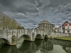 Roermond Maria theresia Brug IMG_4410 (seyjo) Tags: church river places location maas hdr roermond urbanscape historiccity rur historicbridge dutchcity steenenbrug seyjo steenbrug