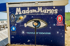 Jersey Shore Fightin' Texas A&M Aggie Ring  Seeks Knowledge from Madam Marie (flickr4jazz) Tags: us newjersey unitedstates asburypark