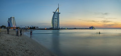 s Apr23_Burj Al Arab sunset_Panorama1 (Andrew JK Tan) Tags: travel dubai uae burjalarab 2016