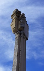 Column From The Former 6th St. Bridge