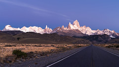 Patagonian Blue Hour (Bereno DMD) Tags: wild patagonia mountain mountains southamerica landscape open ridge openroad wilderness ridgeline southernpatagoniaicefields
