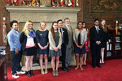 Stop the Hate® Finalists with Mayor Frank Jackson